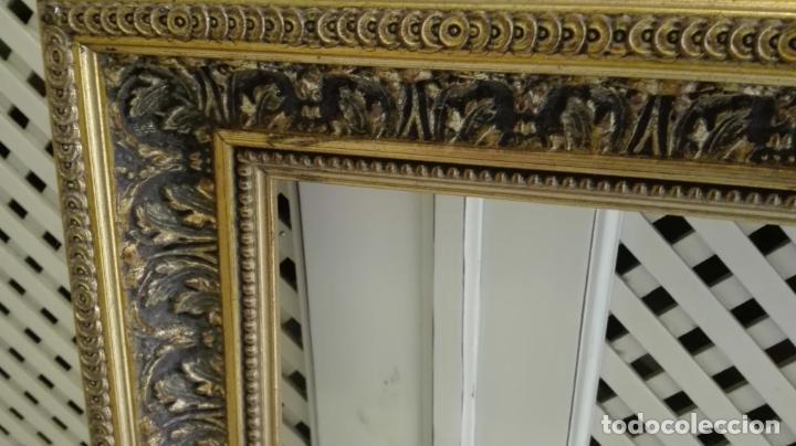 Coleccionismo: marco dorado-madera - Foto 3 - 157918874