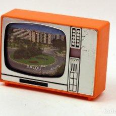 Coleccionismo: TELEVISOR VISOR DIAPOSITIVAS - RECUERDO DE SALOU - SOUVENIR AÑOS 70 / 80 - LOTE Nº4. Lote 157943522