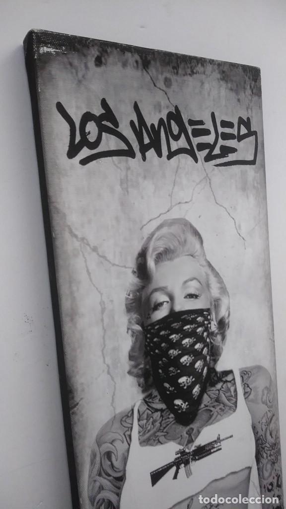 Coleccionismo: cuadro de Marilyn Monroe - Foto 3 - 157947938