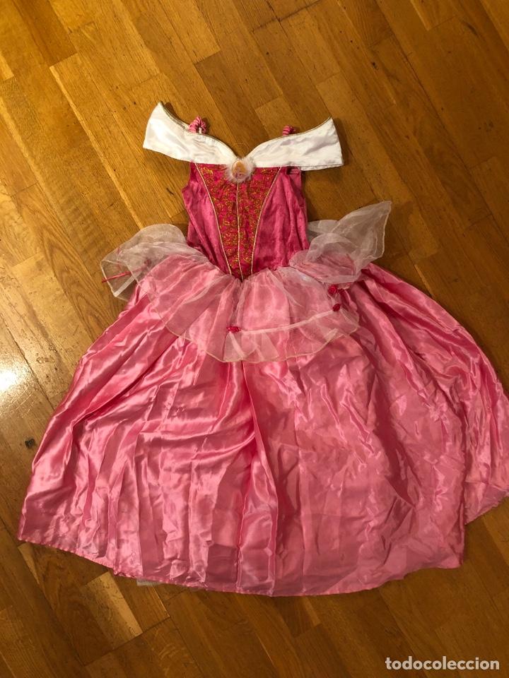 Precioso Disfraz Vestido Princesa Aurora Disney Store La Bella Durmiente
