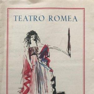 1951 Teatro Romea. Antígona 16,5x23,4cm
