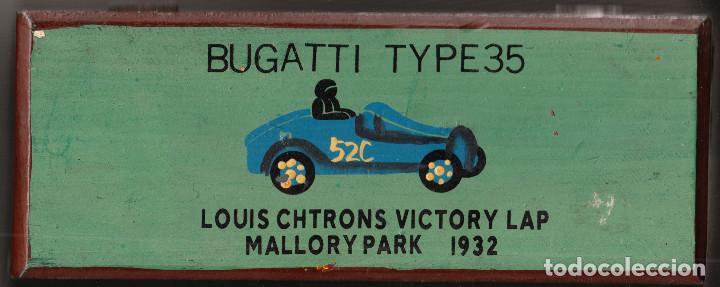 CAJITA-LAPICERO BUGATTI TYPE 35 LOUIS CHTRONS VICTORY LAP MALLORY PARK 1932 (Coleccionismo - Varios)