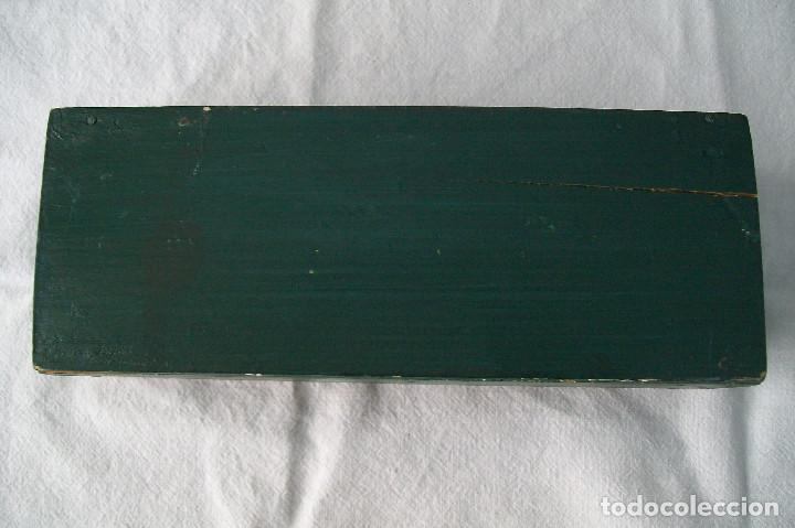 Coleccionismo: CAJITA-LAPICERO BUGATTI TYPE 35 LOUIS CHTRONS VICTORY LAP MALLORY PARK 1932 - Foto 4 - 158234914