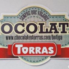 Coleccionismo: IMAN PARA NEVERA DE CHOCOLATES TORRAS. Lote 158265801