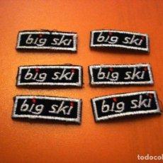 Coleccionismo: BIG SKI - PARCHE BORDADO (6 UNIDADES). Lote 158279398