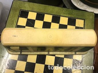 Coleccionismo: Luminoso Taxi antiguo - Foto 3 - 158330709