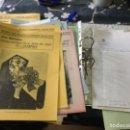 Coleccionismo: CURIOSA CARPETA REALIZACIÓN DE GUÍA DIDÁCTICA DEL MUSEO DEL PRADO AÑOS 80 - SANZ VEGA. Lote 158583226
