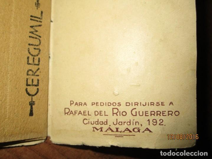 Coleccionismo: PERFUME CEREGUMIL MALAGA PAPEL ORIENTAL PARA CURA DE ENFERMOS COMPLETO - Foto 5 - 158761486