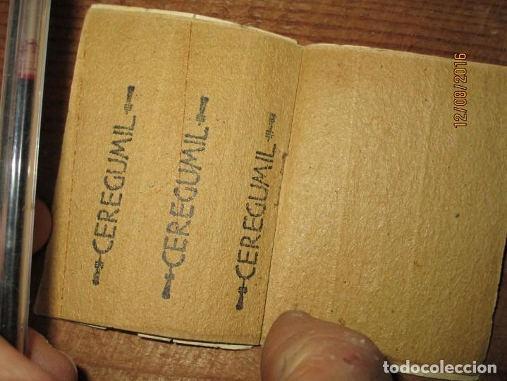 Coleccionismo: PERFUME CEREGUMIL MALAGA PAPEL ORIENTAL PARA CURA DE ENFERMOS COMPLETO - Foto 7 - 158761486