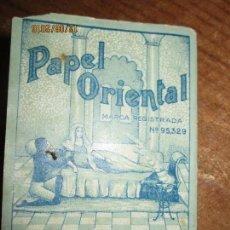 Coleccionismo: PERFUME CEREGUMIL MALAGA PAPEL ORIENTAL PARA CURA DE ENFERMOS COMPLETO. Lote 158761486