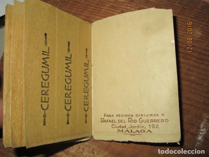 Coleccionismo: PERFUME CEREGUMIL MALAGA PAPEL ORIENTAL PARA CURA DE ENFERMOS COMPLETO - Foto 8 - 158761486