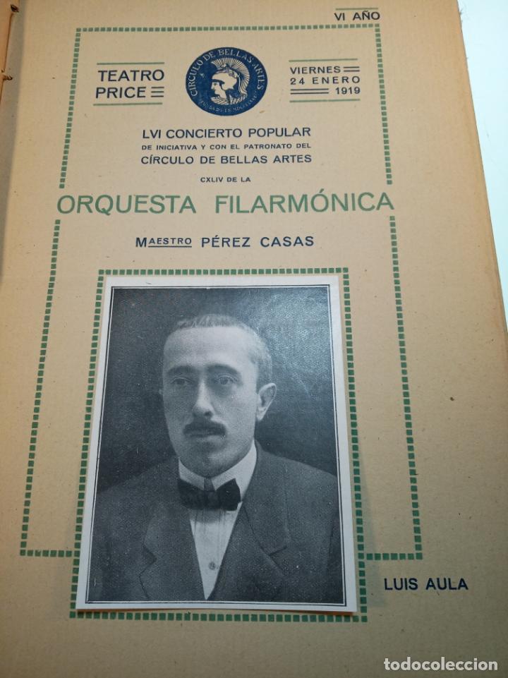 Coleccionismo: Extraordinaria colección de unos 30 programas del teatro Price, teatro del centro y de la comedia. - Foto 3 - 158904758