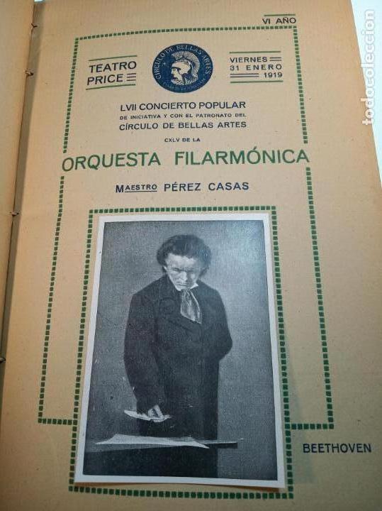 Coleccionismo: Extraordinaria colección de unos 30 programas del teatro Price, teatro del centro y de la comedia. - Foto 7 - 158904758