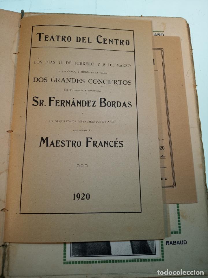 Coleccionismo: Extraordinaria colección de unos 30 programas del teatro Price, teatro del centro y de la comedia. - Foto 10 - 158904758