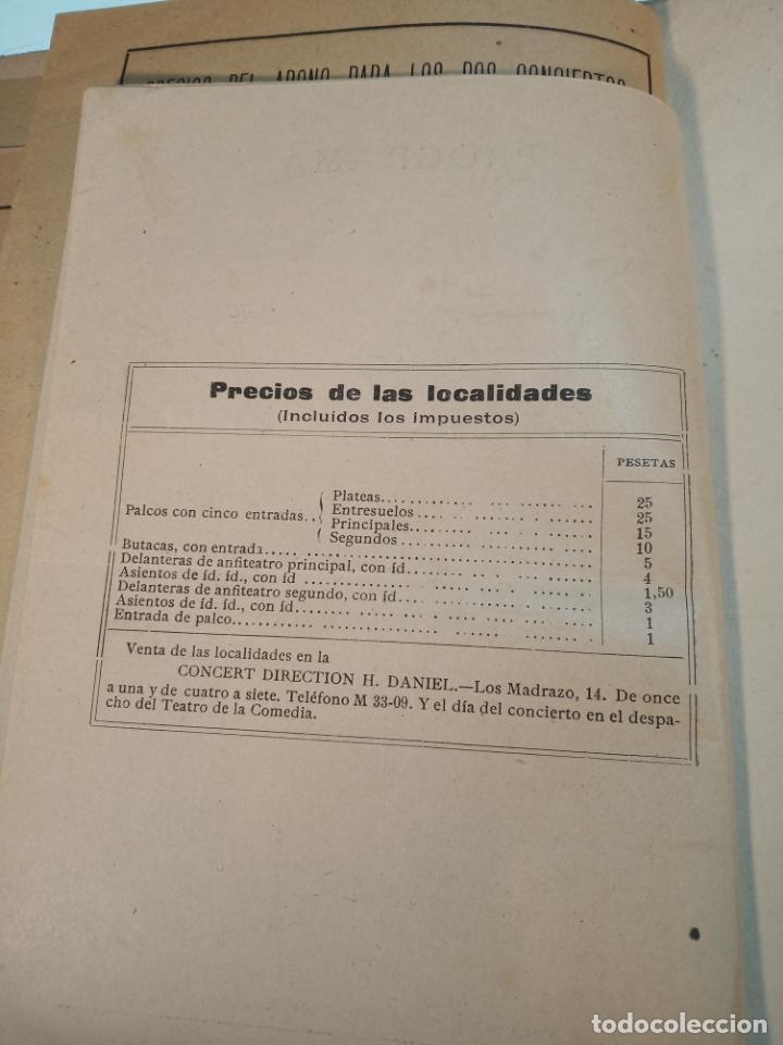 Coleccionismo: Extraordinaria colección de unos 30 programas del teatro Price, teatro del centro y de la comedia. - Foto 21 - 158904758