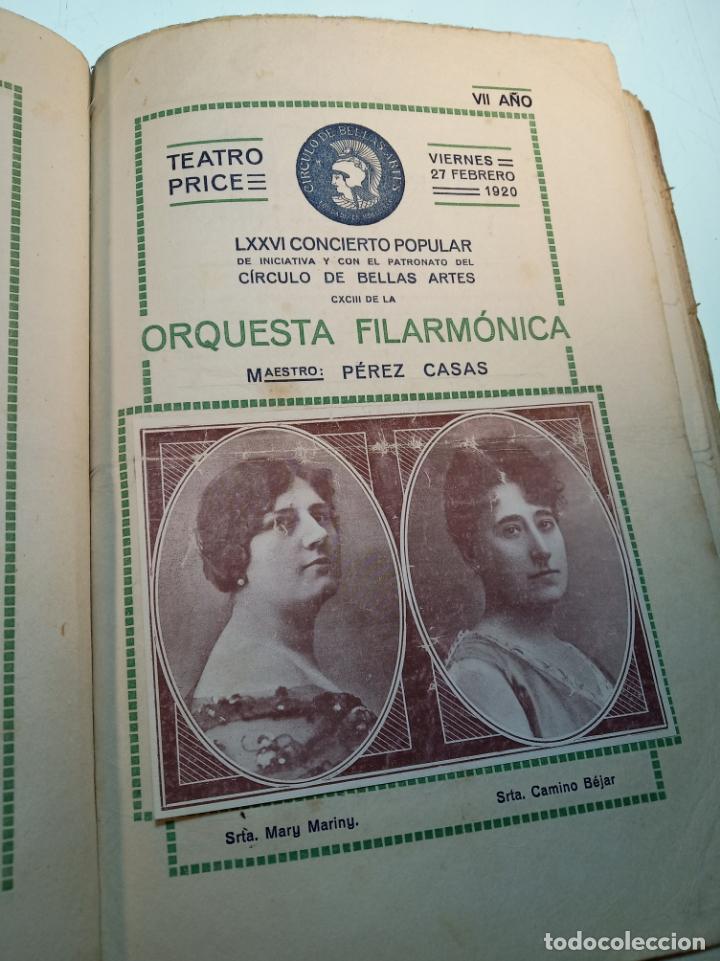 Coleccionismo: Extraordinaria colección de unos 30 programas del teatro Price, teatro del centro y de la comedia. - Foto 24 - 158904758