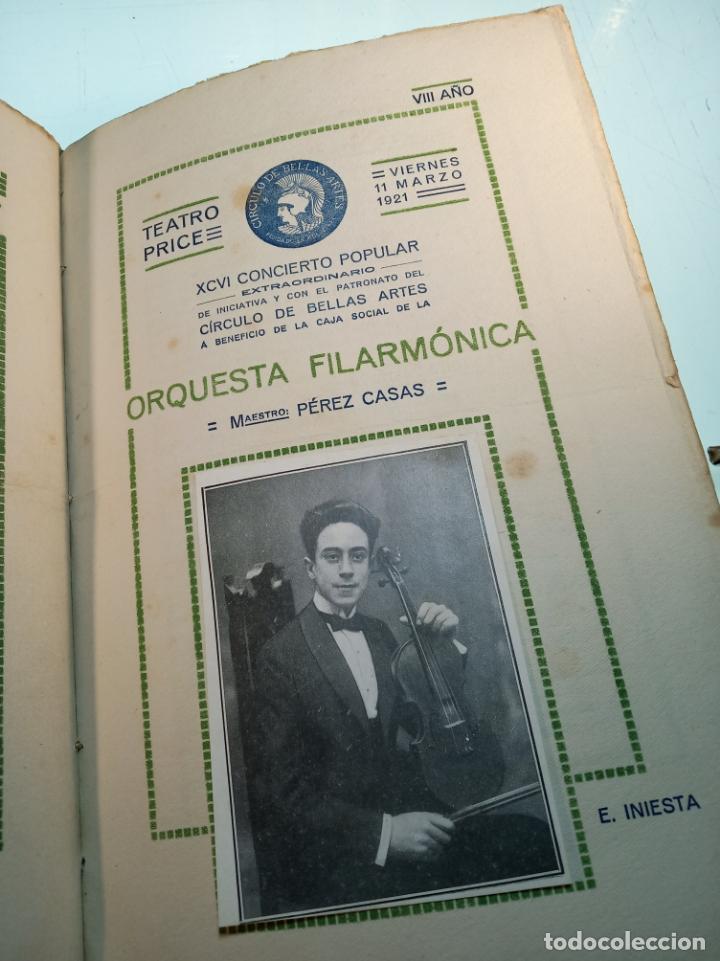Coleccionismo: Extraordinaria colección de unos 30 programas del teatro Price, teatro del centro y de la comedia. - Foto 29 - 158904758