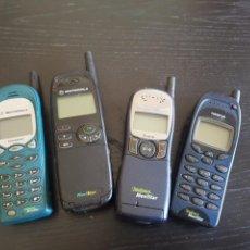 Coleccionismo: LOTE DE 4 ANTIGUOS TELEFONOS MOVILES TIPO LADRILLO. Lote 158938460