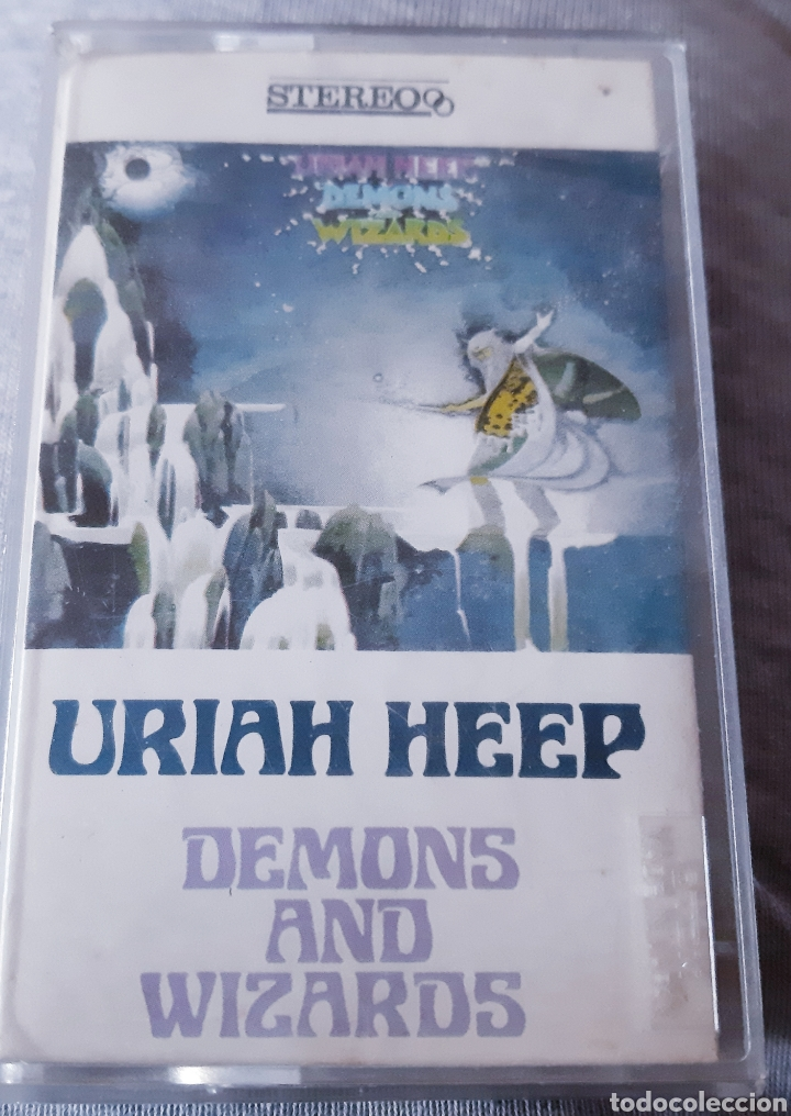 1 cinta cassette uriah heep (demons and wizards - Sold