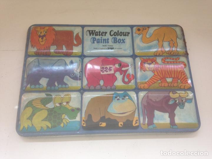 WATER COLOUR - PAINT BOX (Coleccionismo - Varios)