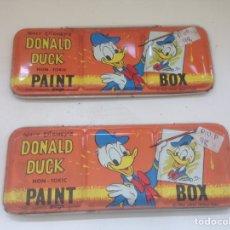 Coleccionismo: LOTE DONALD DUCK PAINT. Lote 159304988