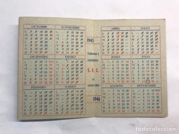 Coleccionismo: BARCELONA. Lote de 4 Almanaques Escolares de 1945 a 1949 - Foto 3 - 159454654