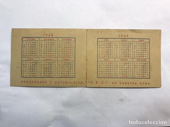 Coleccionismo: BARCELONA. Lote de 4 Almanaques Escolares de 1945 a 1949 - Foto 9 - 159454654