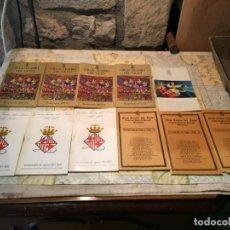 Coleccionismo: ANTIGUOS 11 PROGRAMAS DE MANO DEL GRAN TEATRO DEL LICEO BARCELONA AÑO 1972-1973 TEMPORADA DE OPERA. Lote 159583666