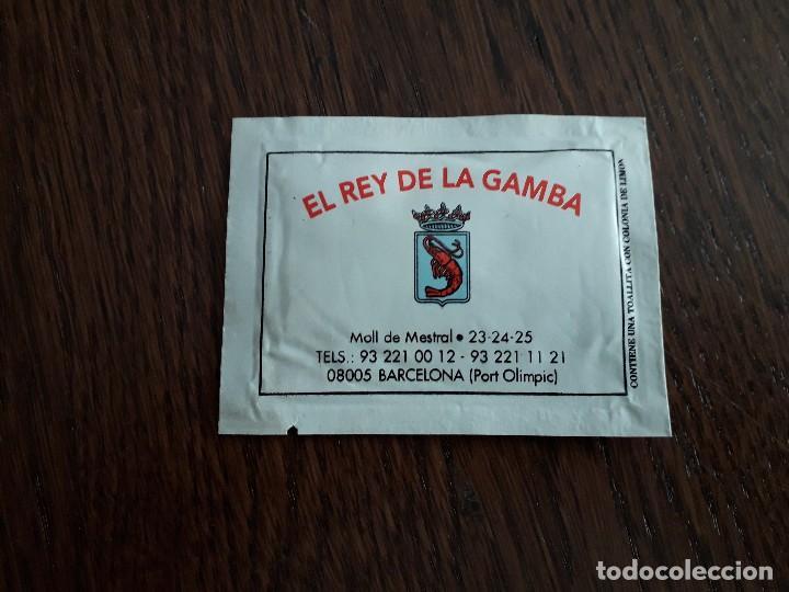 Toallita Refrescante De Publicidad Restaurante Comprar En Todocoleccion 159773334