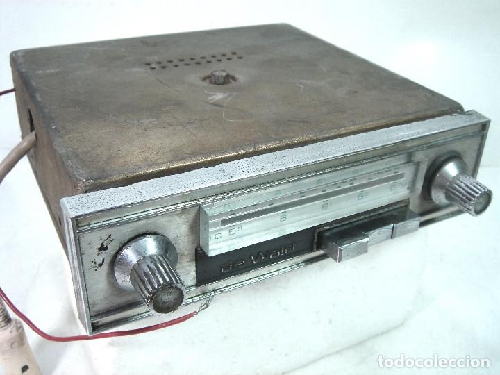 Coleccionismo: AUTO RADIO CLASICO -DE WALD 3000 -AUTORADIO-SPAIN 1969-DEWALD CASSETTE-COCHE CLASICO-AUTO - Foto 2 - 159786934