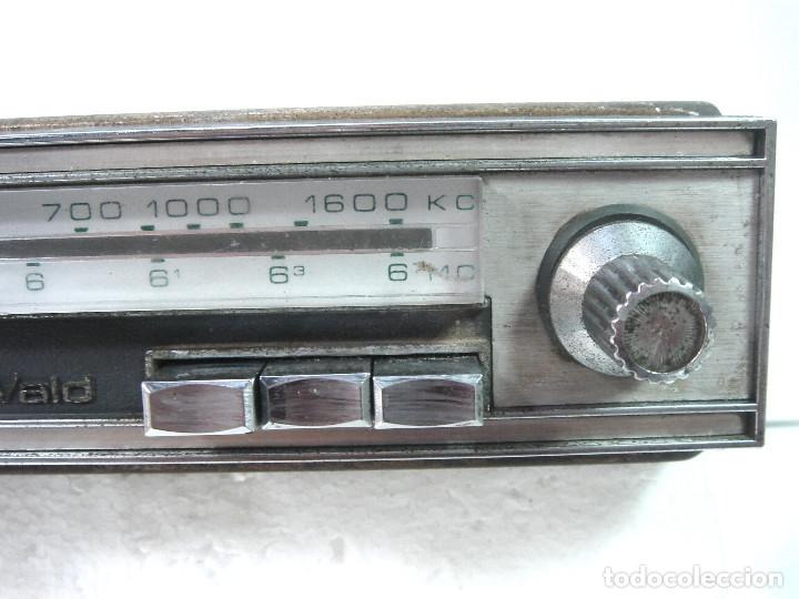 Coleccionismo: AUTO RADIO CLASICO -DE WALD 3000 -AUTORADIO-SPAIN 1969-DEWALD CASSETTE-COCHE CLASICO-AUTO - Foto 5 - 159786934