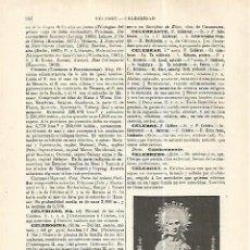 Coleccionismo: LAMINA ESPASA 32469: URNA RELICARIO DE SAN CELEDONIO. Lote 159803308