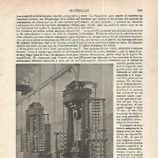 Coleccionismo: LAMINA ESPASA 32290: MAQUINA MARTENS. Lote 159805418