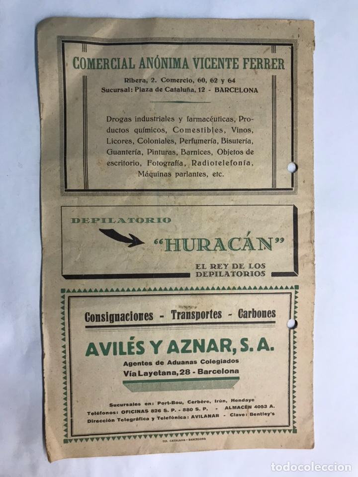 Coleccionismo: ITINERARIO Barcelona Tarrasa Sabadell. Guías itinerarios AGIF (a.1929) - Foto 5 - 160164709