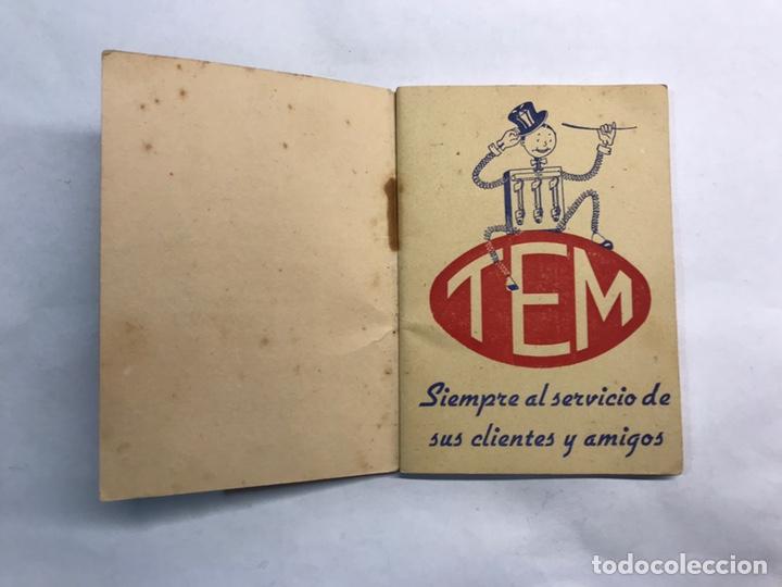 Coleccionismo: BARCELONA. Librito Maquinaria y Material eléctrico TEM interruptores y Conmutadores (h.1950?) - Foto 2 - 160198864
