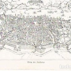 Coleccionismo: LAMINA 13805: VISTA DE AMBERES. Lote 160294338