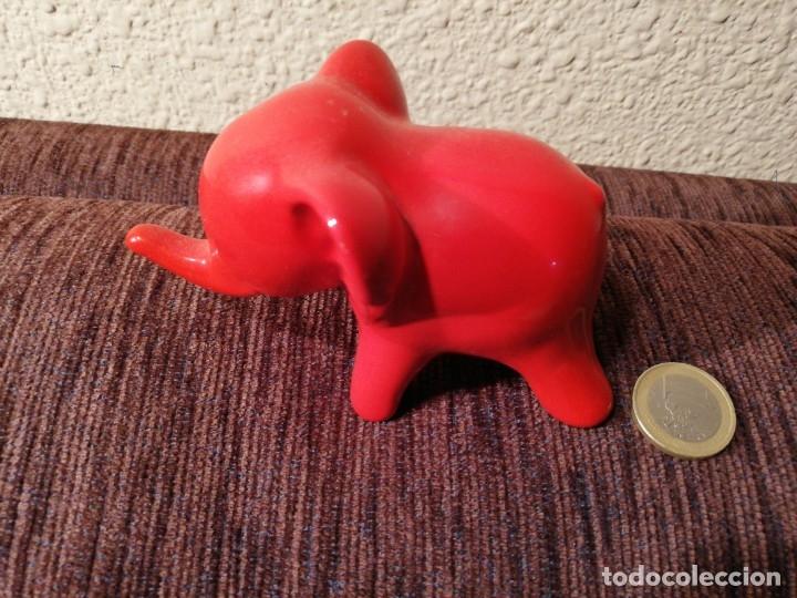 Coleccionismo: Figura ceramica de elefante - Foto 4 - 80281549