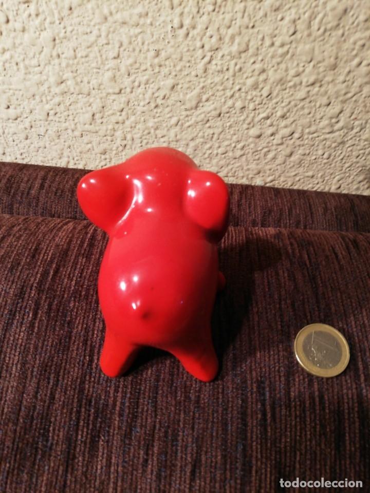 Coleccionismo: Figura ceramica de elefante - Foto 5 - 80281549