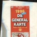 Coleccionismo: DIE GENERAL KARTE NUMERO 10: KOLN-DUSSELDORF. Lote 160667948