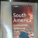 Coleccionismo: SOUTH AMERICA: CONTINENTAL, REFERENCE MAP. Lote 160667973