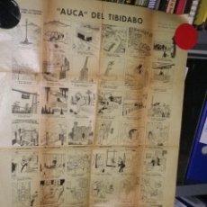 Coleccionismo: AUCA DEL TIBIDABO AUTENTICA. Lote 160737562