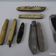 Coleccionismo: -COLECCION NAVAJAS- NACAR- HUESO- OTROS-. Lote 160799078