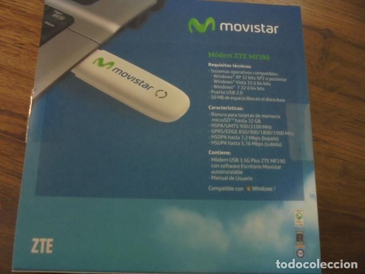 MODEM ZTE MF190 DE MOVISTAR  INTERNET MOVIL