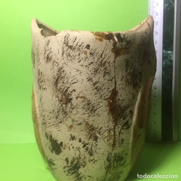 Coleccionismo: Búho de cerámica con faltas - Foto 3 - 160885382