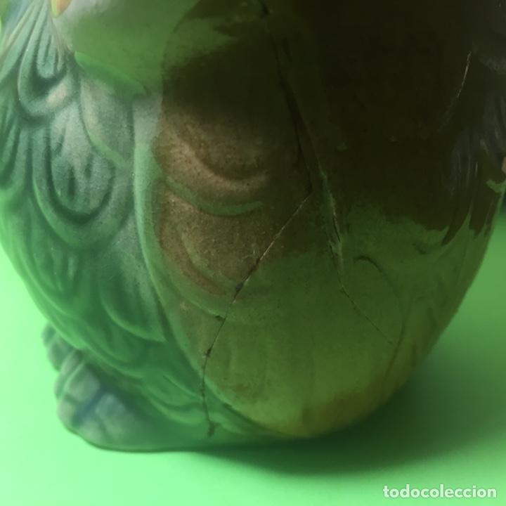 Coleccionismo: Búho de cerámica con faltas - Foto 7 - 160885382