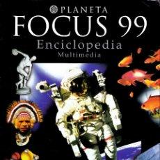 Coleccionismo: FOCUS 99. ENCICLOPEDIA MULTIMEDIA PLANETA. (8 CD-ROM).. Lote 160991118