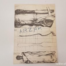 Collezionismo: CARTA DEL RESTAURANTE ARZAK 1998, SAN SEBASTIAN. Lote 161115578
