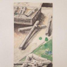 Collezionismo: CARTA PUROS Y HABANOS DEL RESTAURANTE ARZAK, SAN SEBASTIAN. Lote 161115814