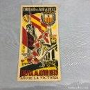 Coleccionismo: ANTIGUO PROGRAMA DE LA FIESTA MAYOR CIUDAD DE SABADELL, 1939. JUSTO DESPUES DE LA GUERRA CIVIL.. Lote 161164458