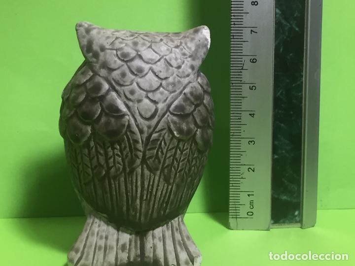 Coleccionismo: Búho yeso o cerámica - Foto 3 - 161296929